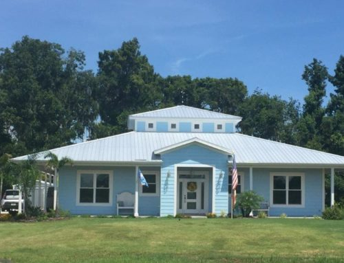 The Russell Home was hit by two major hurricanes and left unscathed!
