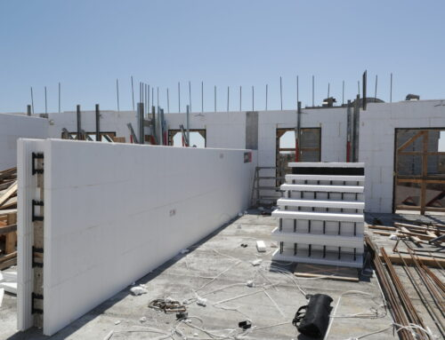 Reduce Noise and Block Air Flow With Logix ICF Demising Walls