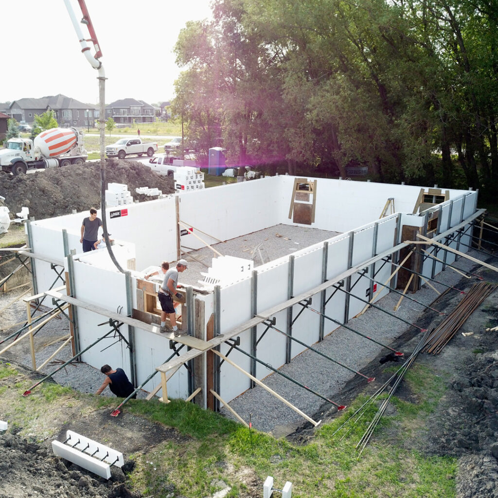 DIY ICF Construction