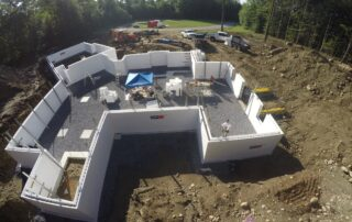 Drone Photo Of Logix Construction Site