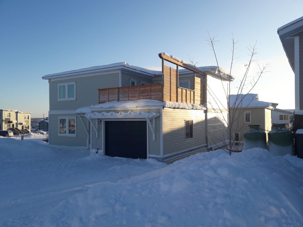 Net Zero Home in The Northwest Territories