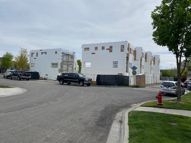 Award Winning Multi-Family Townhouses built with Logix Insulated Concrete Forms