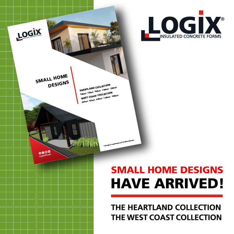 Logix ICF Small Homes Plans have arrived!