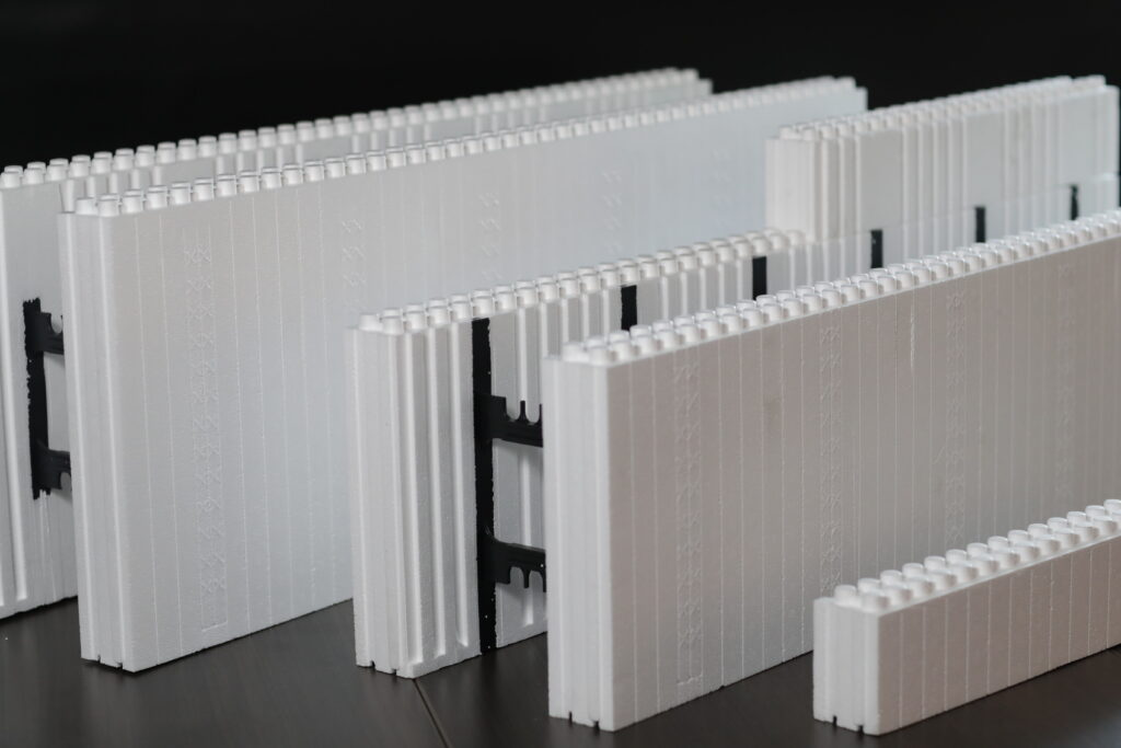 Variety of Logix ICF Blocks and Accessories