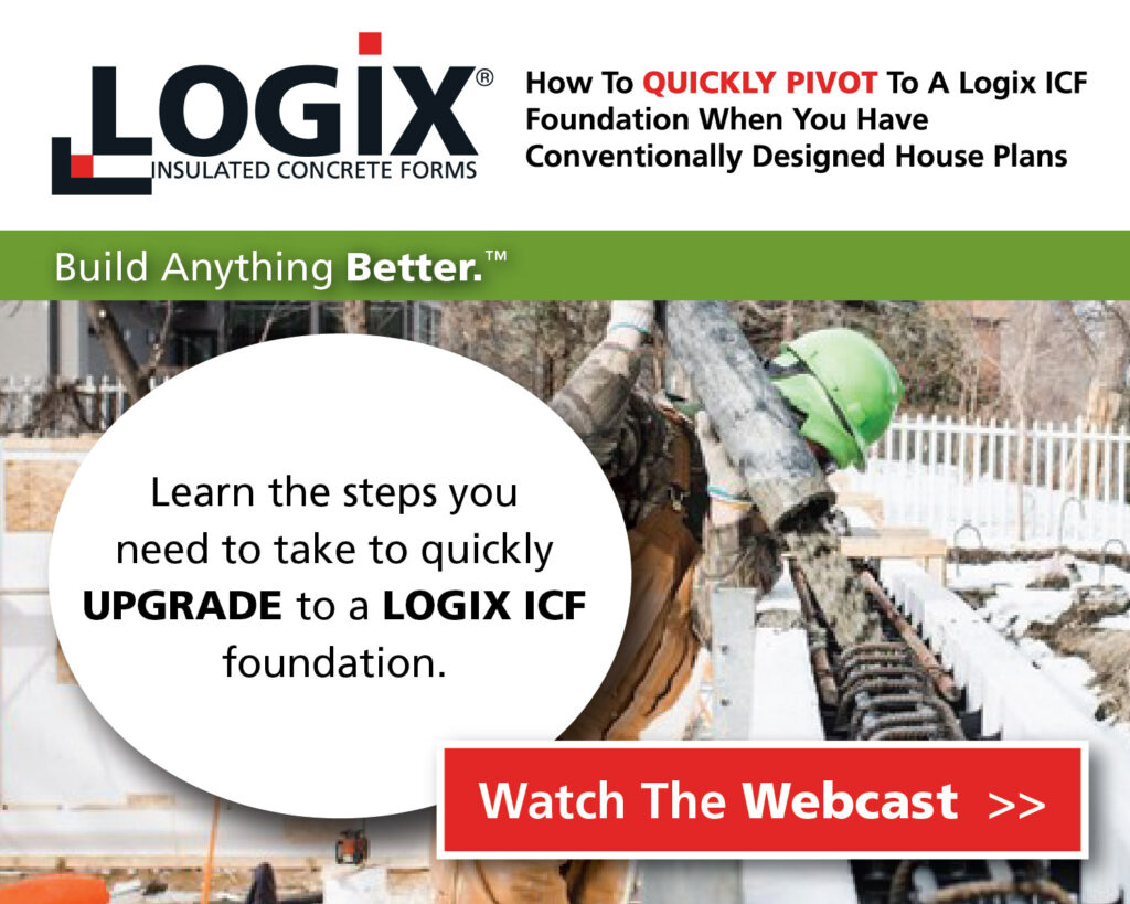 Pivot Your Plans To A Logix ICF Foundation