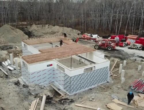 A Look at Net-Zero Ready Below-Grade Walls for Cold Climates