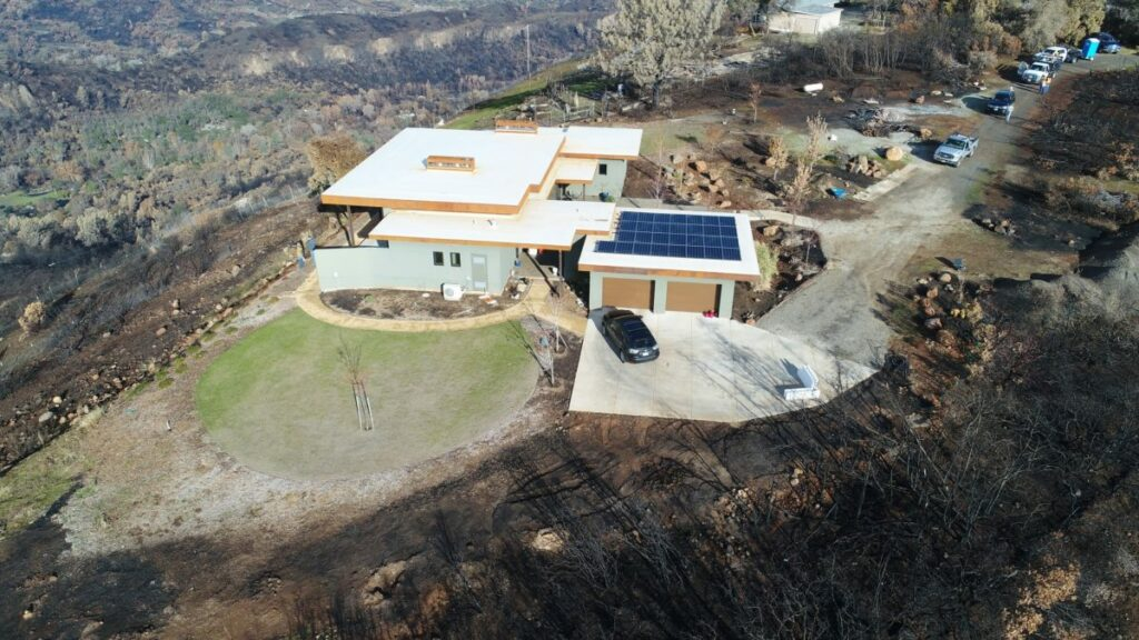 Fireproof homes built with Logix ICF